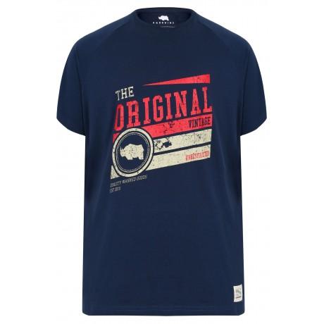 4XL BadRhino Burgundy T-Shirt XXXXL