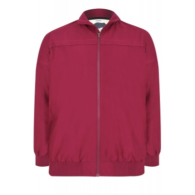 Bunda Burgundy Harrington Bomber