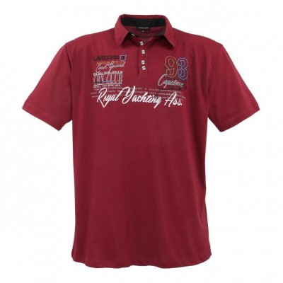 Polo-shirt Bordeaux
