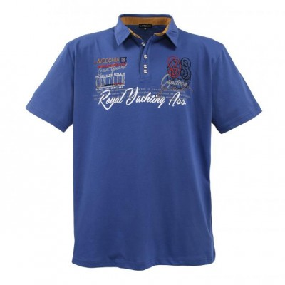 Polo-shirt Indigo-Blue