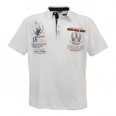 Polo-shirt Creme White
