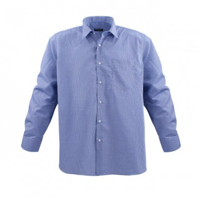 Jeansblue-White shirt