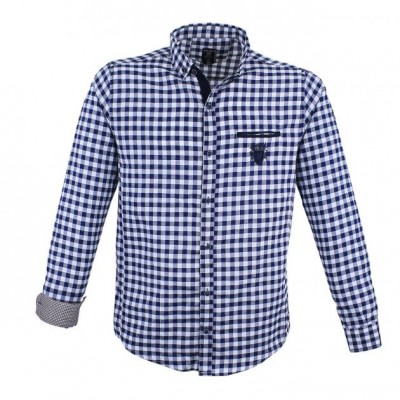 Jeans-Blue-White shirt