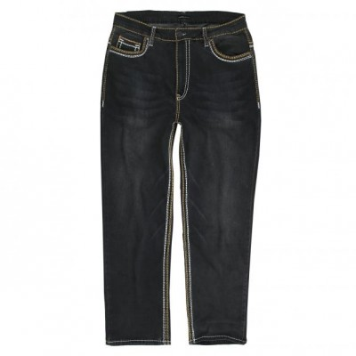 Kalhoty Elastan black jeans