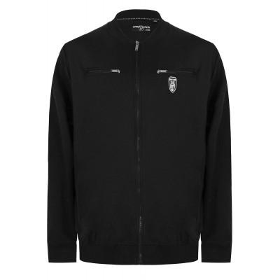Black Zip Sweatshirt